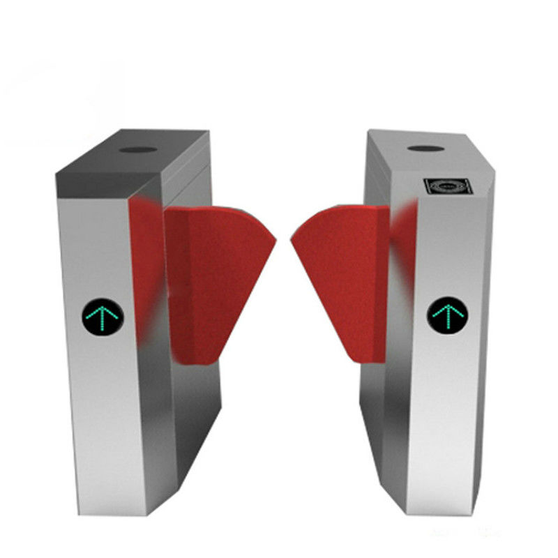 ID Card Reader Turnstile Barrier Gate Security Visitor Management System 50-60HZ