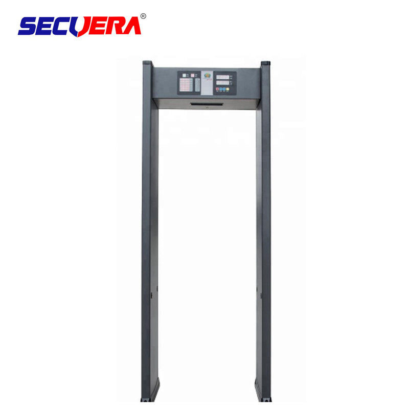 Single Zone Walk Through Metal Detector Security Equipment For Bank / Conference Center